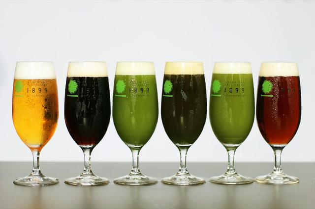 画像: 6種類のお茶ビール www.enjoytokyo.jp