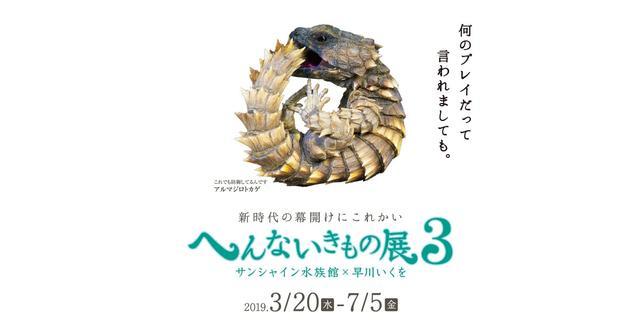 画像: サンシャイン水族館|特別展「へんないきもの展3」 - 2019年3月20日(水)〜2019年7月5日(金)