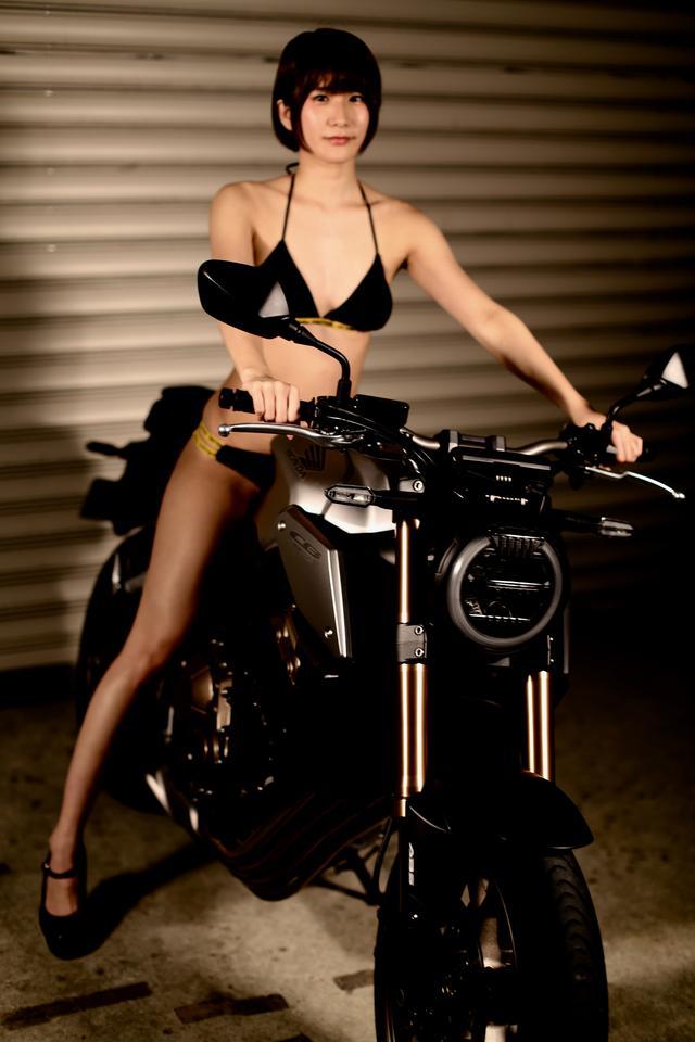 画像1: 【Beauty & Bike】うさことCB650R Vol.14