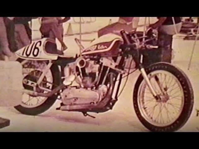 画像: Archives Film Collection: Bonneville Salt Flats | Harley-Davidson Museum youtu.be