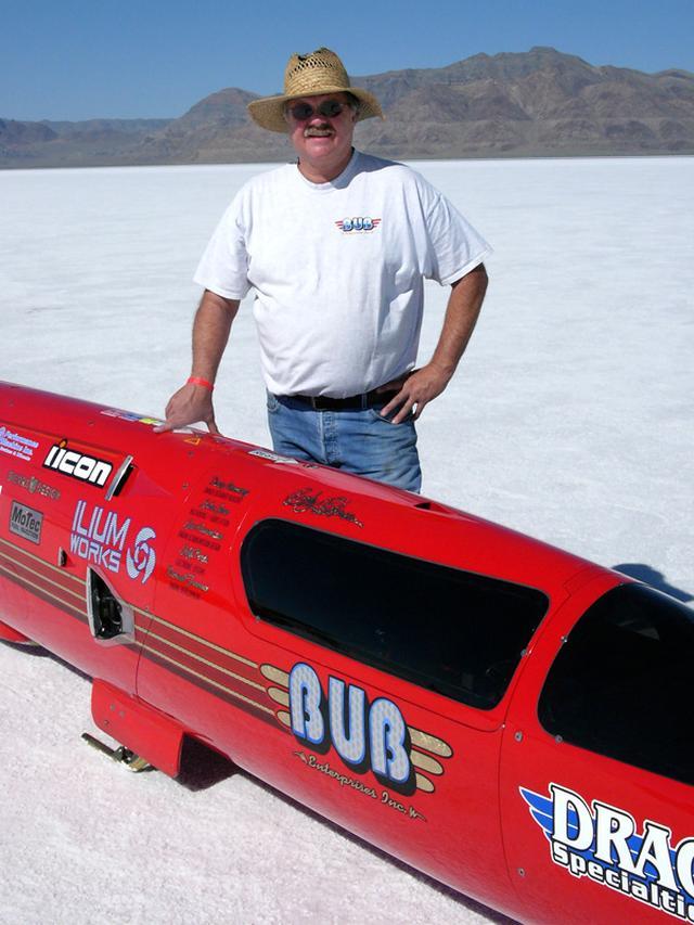 """画像: 少年のころの夢を捨てずに、""""スピード""""を追い求め続けたD.マニング。 www.motorcyclemuseum.org"""
