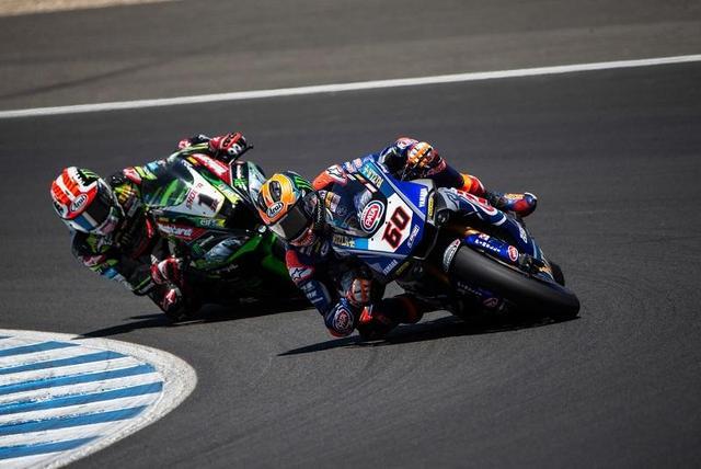 画像: 首位浮上後も冷静なレース運びで、見事レース2を優勝したM.V.D.マーク(ヤマハ)。 race.yamaha-motor.co.jp