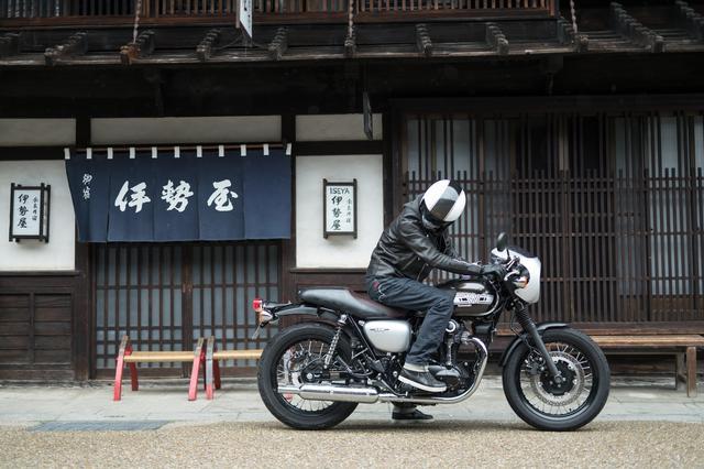 画像2: カワサキW800をじっくり知る