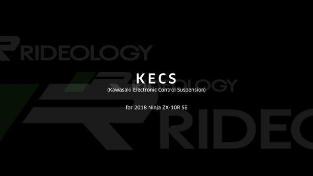 画像: KECS(カワサキエレクトロニックコントロールサスペンション)for Ninja ZX-10R SE youtu.be