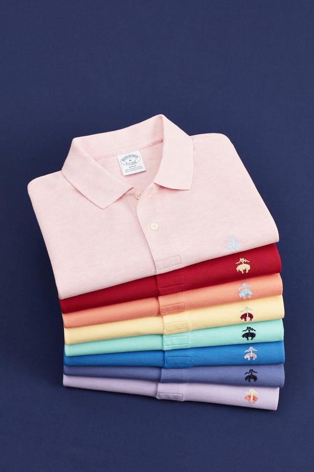 画像: ポロシャツ 各9,000円(税抜) www.brooksbrothers.co.jp