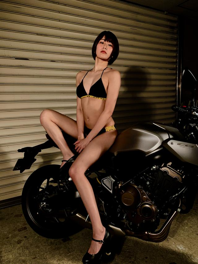 画像4: 【Beauty & Bike】うさことCB650R Vol.17