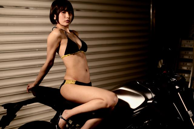 画像3: 【Beauty & Bike】うさことCB650R Vol.19
