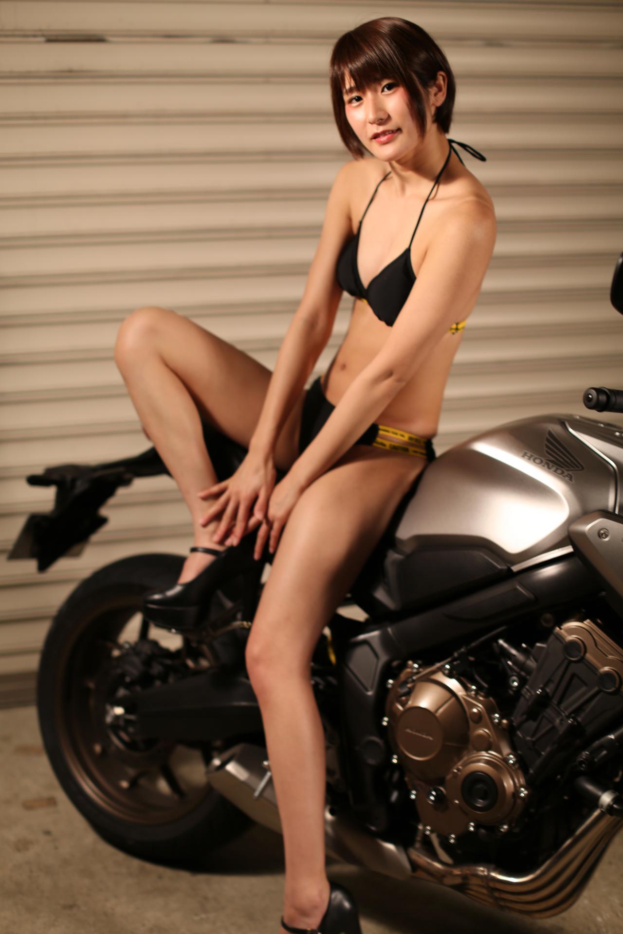 画像4: 【Beauty & Bike】うさことCB650R Vol.20