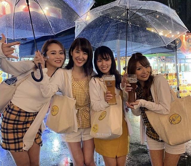 画像: 雨でもたくさんのお客様にご来場いただきました!