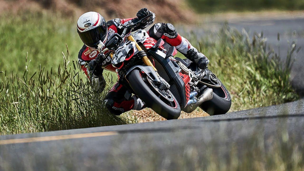 画像: Ducati Streetfighter V4 Prototype at Pikes Peak youtu.be