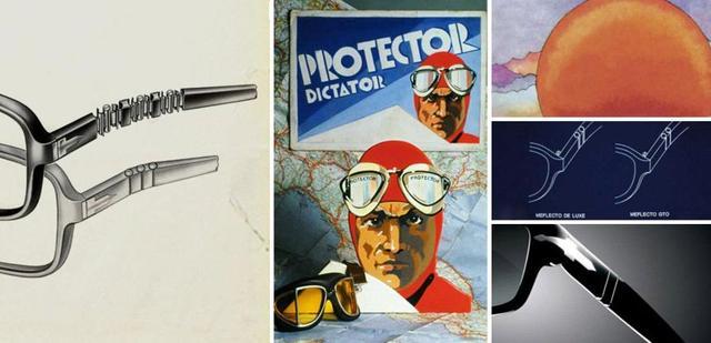 """画像: ペルソールの名声を決定つけたひとつが""""メフレクト・システム""""です。スプリング・ヒンジにより、フレキシブルなステムを実現しました。 www.persol.com"""