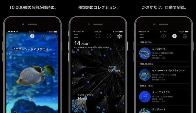 画像: AI搭載のかざす図鑑アプリでアクアリウムをより楽しむ