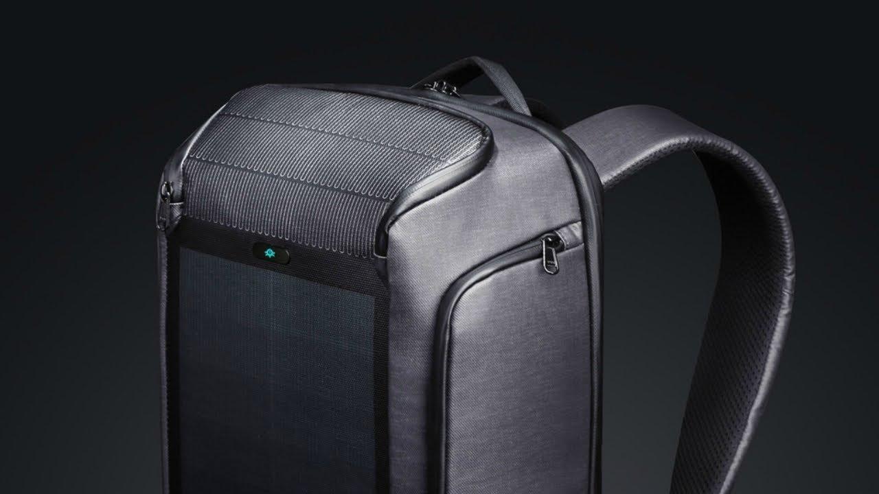 画像: Technology 2019   Beam Backpack - The Most Advanced Solar Power Backpack www.youtube.com