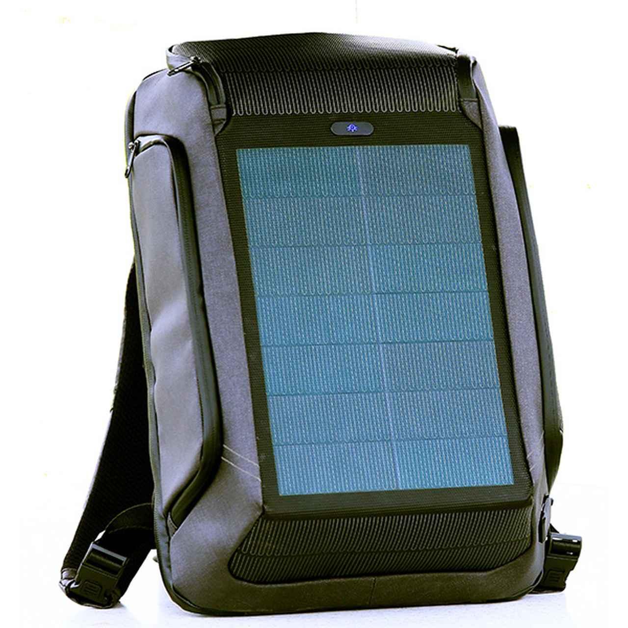 画像1: 【正規輸入品】ソーラーチャージャー搭載マルチバックパック ビームバックパック / Beam Backpack-モーターマガジン Web Shop