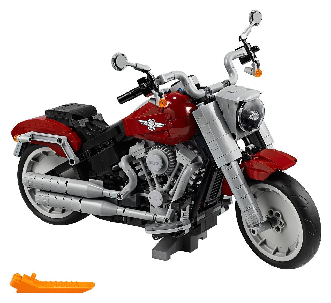 画像: Harley-Davidson® Fat Boy® - 10269 | Creator Expert | LEGO Shop
