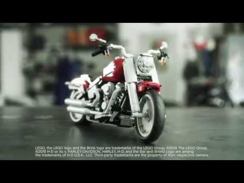 画像: LEGO Fat Boy | Harley-Davidson youtu.be