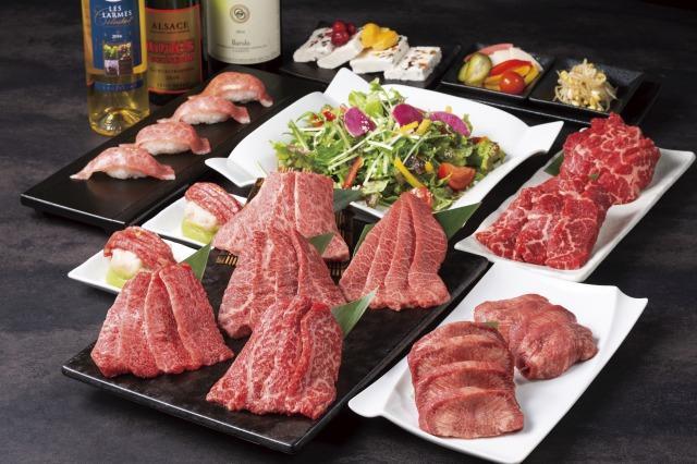 画像1: A5ランクの『鹿児島産黒毛和牛』が楽しめる!高級焼肉店「牛の達人」で贅沢デート☆