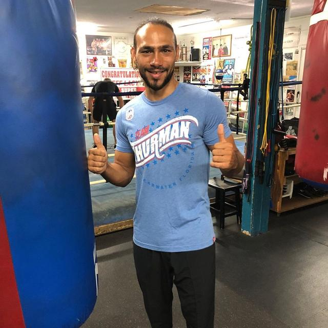 "画像1: Keith Thurman Jr. on Instagram: ""Back YOUR BOY with one of these new #OneTime t-shirts!  Check em out on my website: keiththurman.com"" www.instagram.com"