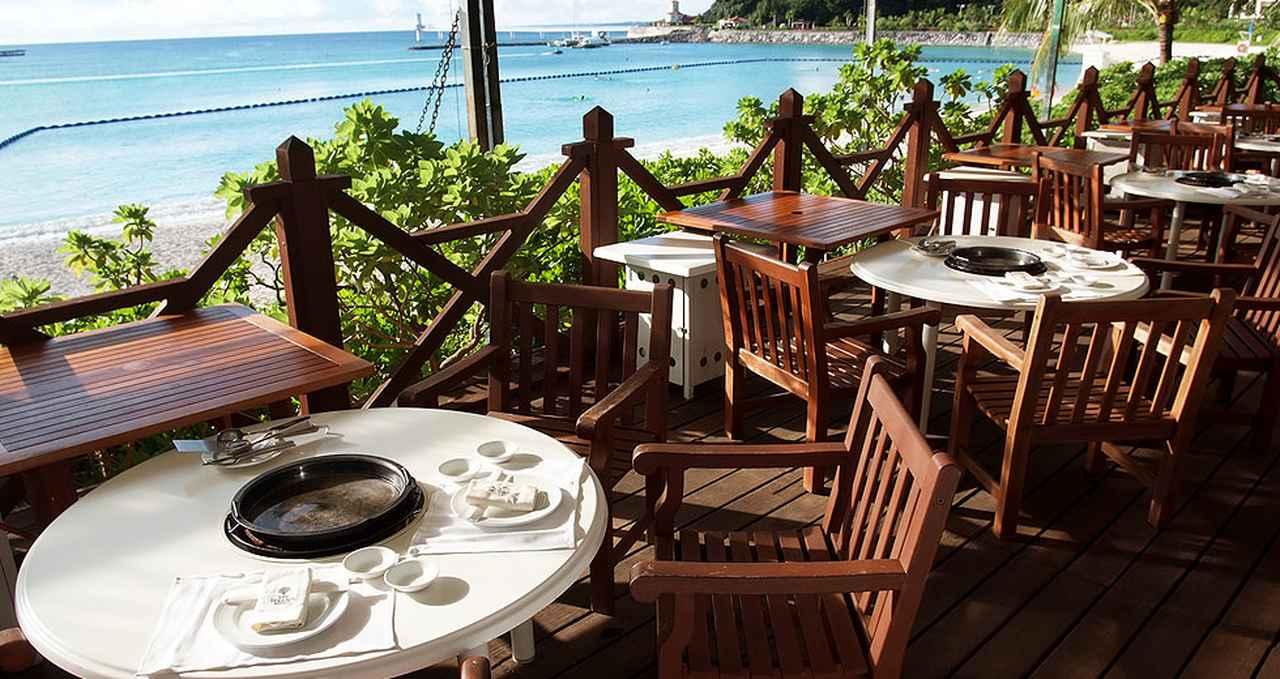 画像: ビーチサイド バーベキュー www.terrace.co.jp