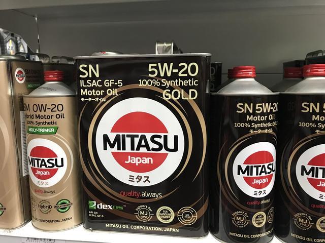 画像: ウインカーリレーを探し求めて行ったウラジオストク市内の2輪用品店にて、オイルコーナーで見た「ミタス」というブランドの製品。高品質の証・・・として日本語表記したパッケージを見るのは、沿海地方に限らず世界的なトレンドですが・・・。