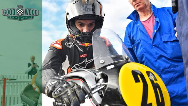 画像: MotoGP racer Dani Pedrosa on his Goodwood Debut youtu.be