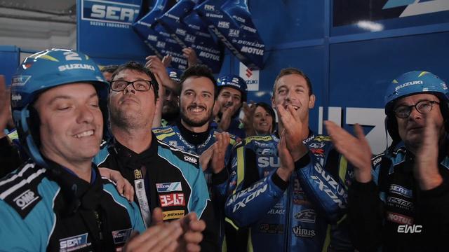 画像: Bol d'Or 2019 - The finish line & Suzuki victory youtu.be