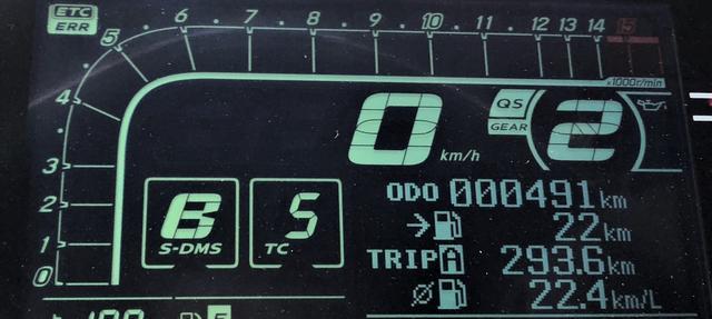 画像: ちなみに 燃料タンク容量は16L でしたが……