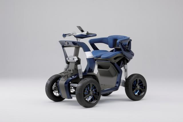 画像: YNF-01 ワイエヌエフ ゼロワン (特別出展物) 乗る者の冒険心を掻き立てる走破性とデザインを両立した、低速モビリティのコンセプトモデル。オフテイストのデザインに、大径タイヤと4輪独立サスペンションを装備。Red Dot Awardデザインコンセプト2019受賞。 global.yamaha-motor.com