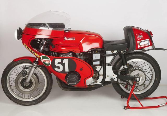 画像: 1972年のボルドールを制した、ロジャー・ルイス/ジェラルド・デブロック組のジャポートホンダ。当時ホンダの耐久レース活動を担ったフランスのジャポートは、1965年と1970年のバルセロナ24時間を制したドレスダに、ホンダCB750FOURエンジンに組み合わせる耐久レーサー用フレームと排気系の製作を依頼しました。 moto-station.com
