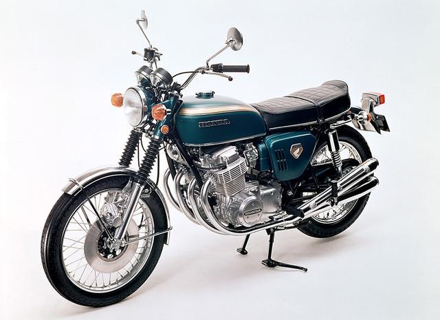 画像: ホンダ ドリーム CB750FOURは、1969年の8月10日に日本国内でも販売され、一躍人気のモデルとなりました。なお当時の価格は¥385,000でした。 www.honda.co.jp