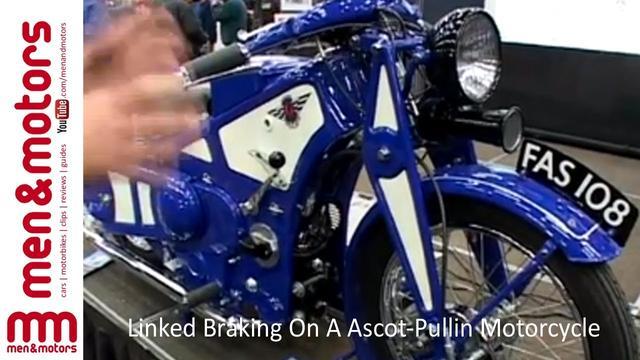 画像: Linked Braking On A Ascot-Pullin Motorcycle youtu.be