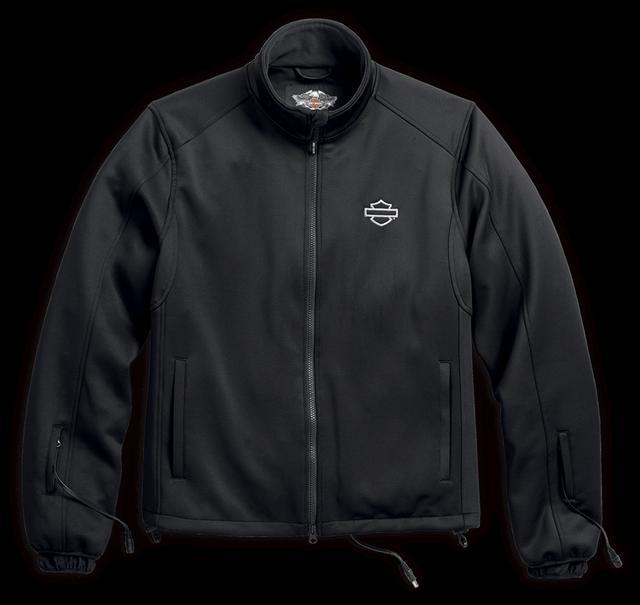 画像: Heated BTC 12V ジャケット ライナー ライディングジャケットの下に着用して、上半身と首回りの暖かさをキープ。双方向ストレッチ素材により、快適なフィット感を得られる。バッテリー接続ハーネスが付属。