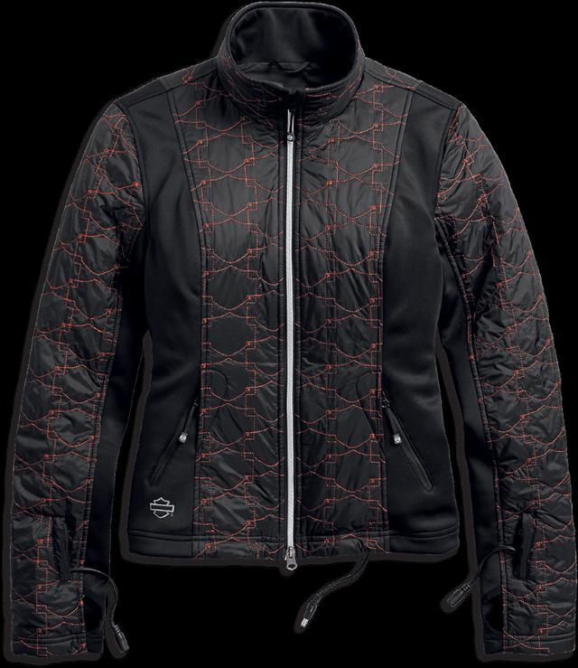 画像: Heated BTC 12V キルト ジャケット ライナー ライディングジャケットの下に着用して、上半身と首回りの暖かさを保つインナー。キルト3MTM Thinsulate ™️断熱材により、軽さと暖かさを両立。バッテリー接続ハーネスが付属。