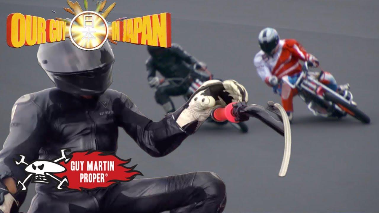 画像: Guy races Japan's Auto Race champion | Guy Martin Proper youtu.be