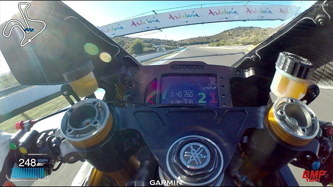 画像: Yamaha R1 2020 Superbike   Onboard Canepa at Jerez youtu.be