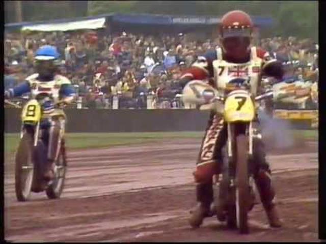 画像: Speedway's Greatest Races - Peter Collins v Egon Muller 1984 youtu.be