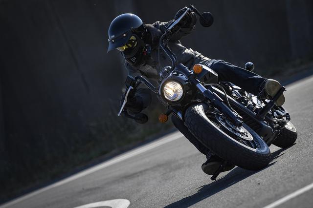 画像3: スカウトは直線だけのバイクじゃない。