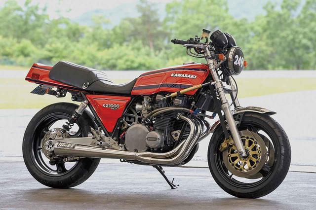 画像: クラスフォーZ1000 (カワサキZ1000)/ドラッグレースでパワーアップ以外のタイム短縮を探る#Heritage & Legends - LAWRENCE - Motorcycle x Cars + α = Your Life.