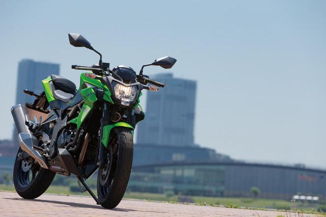 画像: 125cc並みに軽量コンパクトな車体 スポーツライクな走りに対応する足まわり【KAWASAKI Z250SL ABS】(2015年) - LAWRENCE - Motorcycle x Cars + α = Your Life.