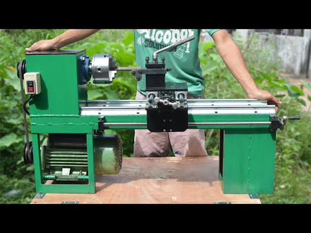 画像: Homemade Lathe Machine youtu.be