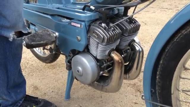 画像: Mobylette Bi Moteur - Motobécane 50vs www.youtube.com