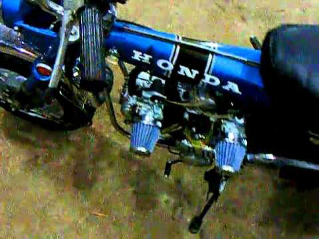 画像: Honda DAX V-Twin 140cc (bicilindrico) youtu.be