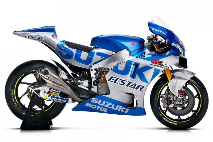 画像: 昨シーズンはアレックス・リンスが第3戦アメリカズGPと第12戦イギリスGPで勝利を記録したスズキGSX-RRですが、青と銀に彩られた2020年型はどのような成績をおさめるのか・・・注目です! www.motogp.com