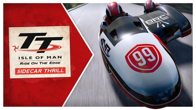 画像: TT Isle of Man - Sidecar Thrill DLC youtu.be