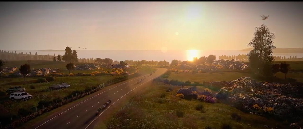 画像: 約60kmの距離、そして250以上のコーナーを持つTTマウンテンコースを完全再現! www.youtube.com