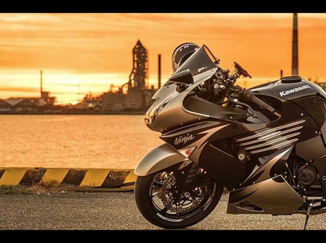画像: 目を奪われたのは海沿いを走るカワサキ Ninja ZX14R!【グラカワインスタ紹介Vol.18】 - LAWRENCE - Motorcycle x Cars + α = Your Life.