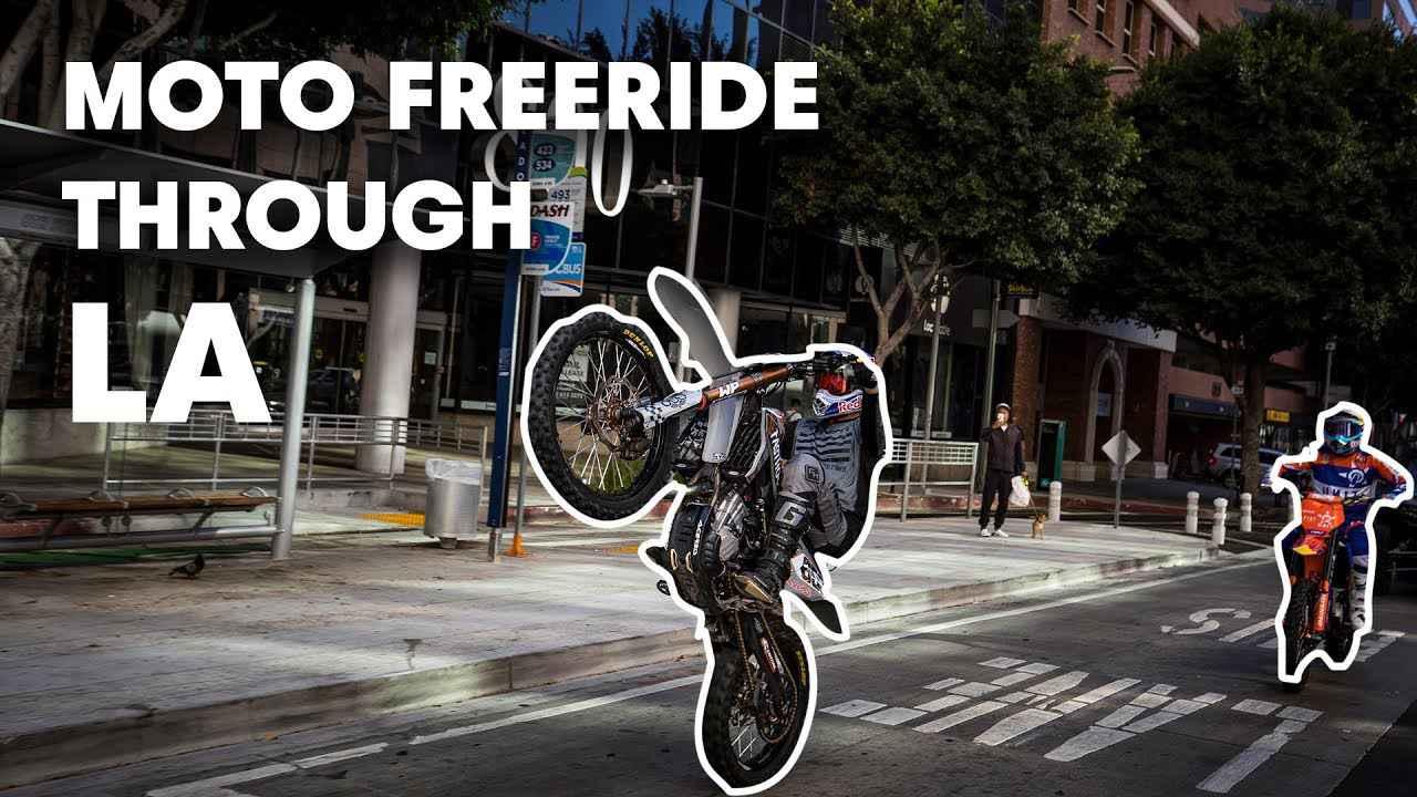 画像: Robbie Maddison & Tyler Bereman Run Wild in Los Angeles | Duct Out youtu.be