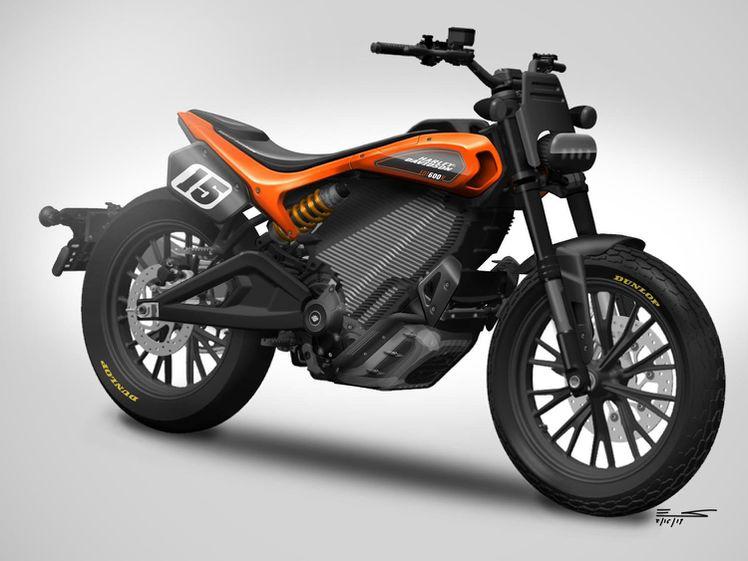 画像: ハーレーダビッドソン伝統のレーシングカラーである、オレンジと黒を身に纏ったEDT600R。 www.harley-davidson.com