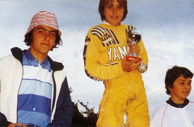 画像: 子供時代のJMB(中央)。可愛いですね〜。 www.jeanmichelbayle.fr