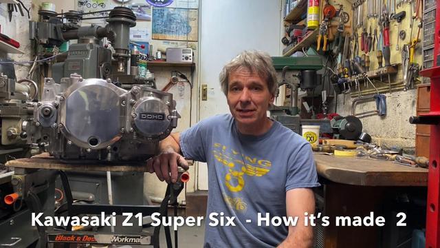 画像: Kawasaki Z1 Super Six - How its Made 2 youtu.be